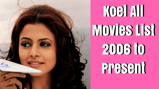koel mallick all movies list